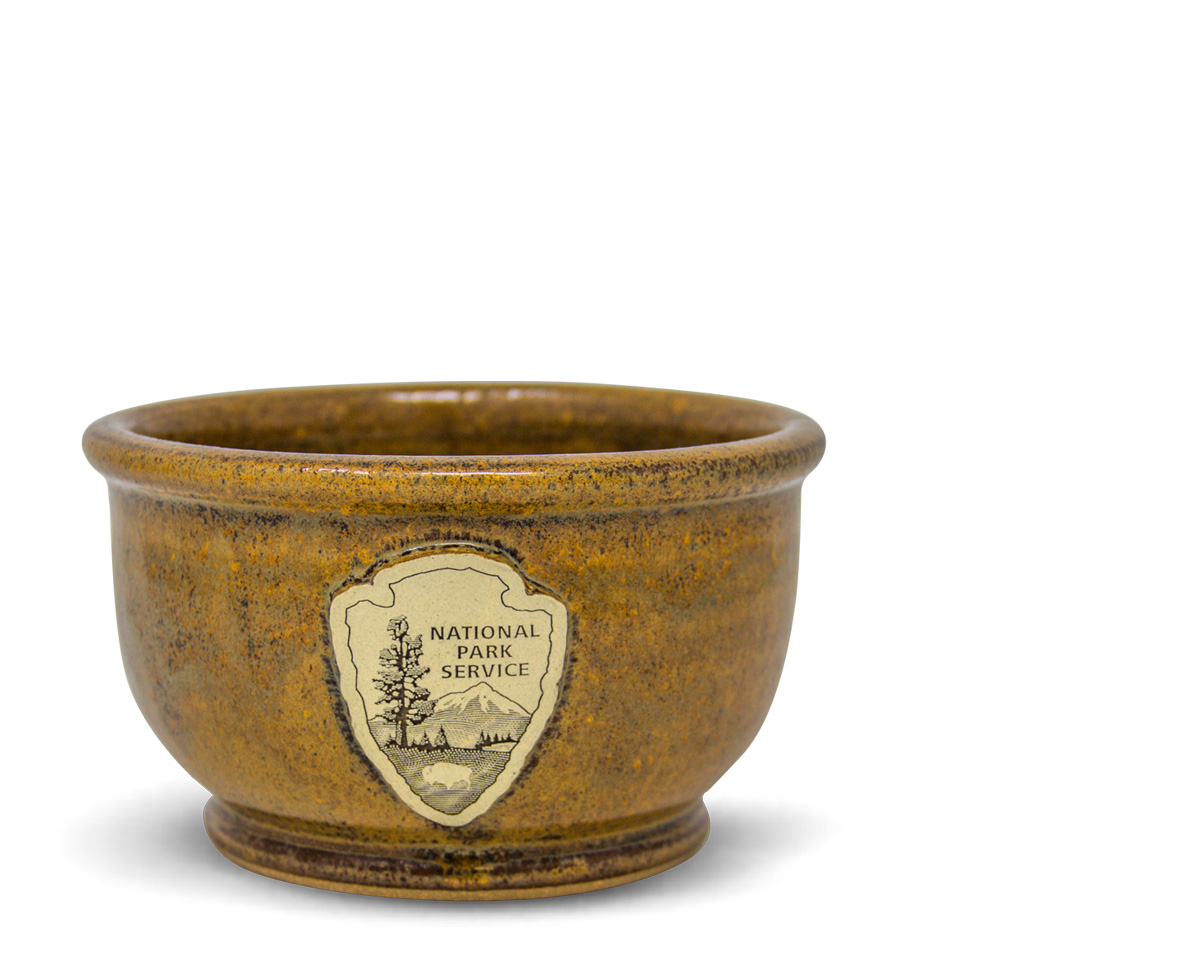 Good Mornin stoneware bowl from Sunset Hill Stoneware
