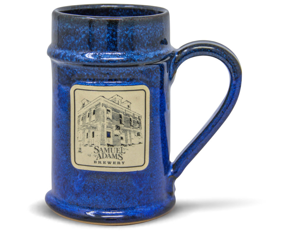 Tall Boy Tap beer stein from Sunset Hill Stoneware