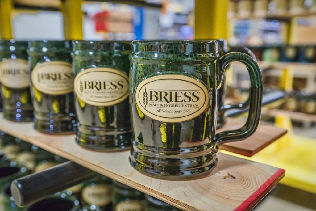 Briess Stoneware Beer Steins