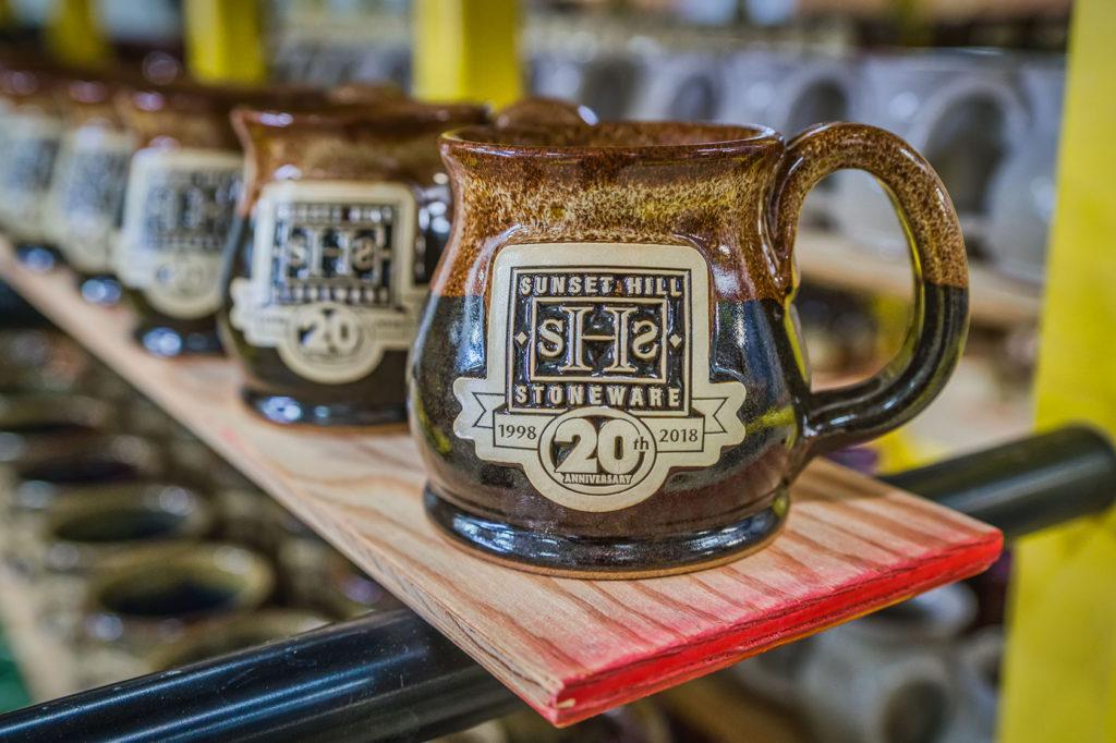 Potbelly anniversary mugs in Irish Stout