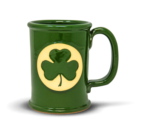 Straight Shot in Lucky Charm with a Shamrock medallion