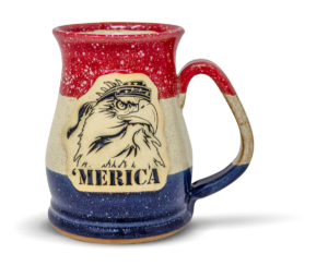 Merica Mammoth mug from Sunset Hill Stoneware