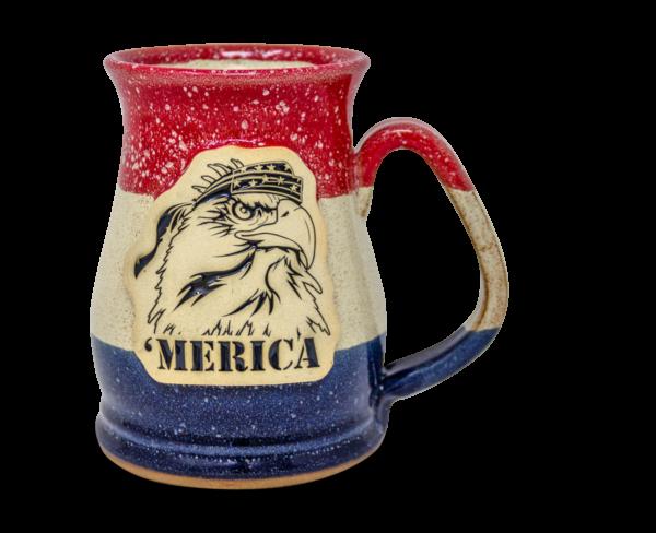 Merica Mammoth mug from Sunset Hill Stoneware