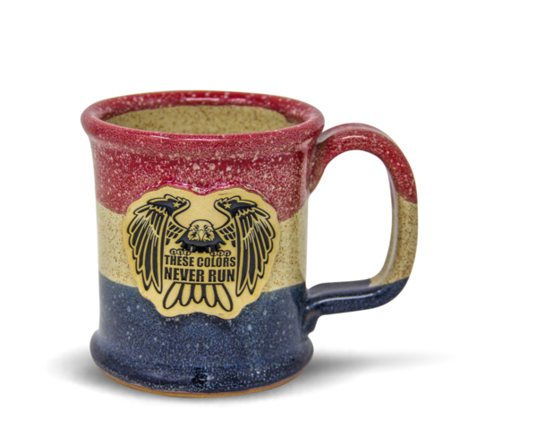 These Colors Never Run coffee mug from Sunset Hill Stoneware