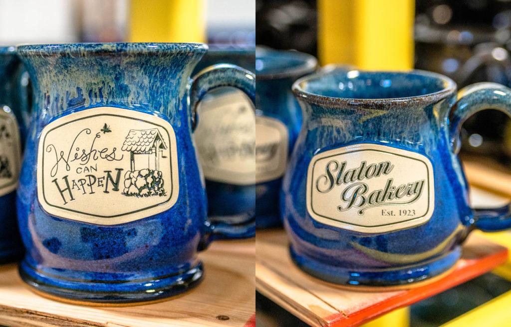 Sunset Hill Stoneware mugs in Northern Lights