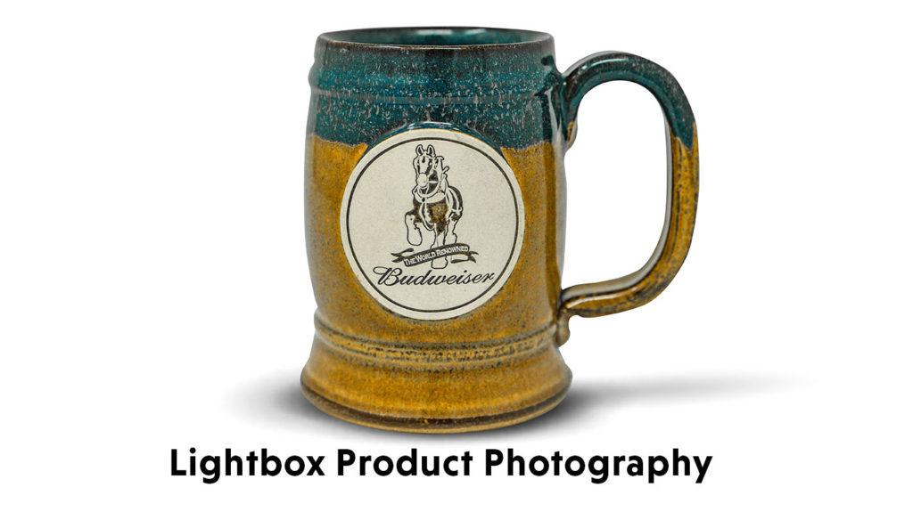 Lightbox Photo of a Beer Mug