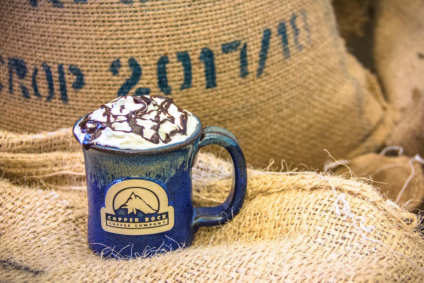 Copper Rock Coffee Company stoneware mug