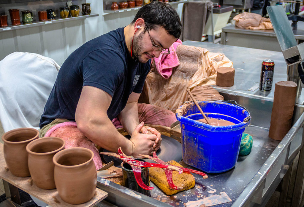 Michael Weber, a Potter at Sunset Hill Stoneware