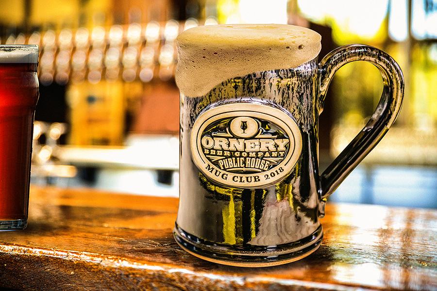Mug Club beer mug
