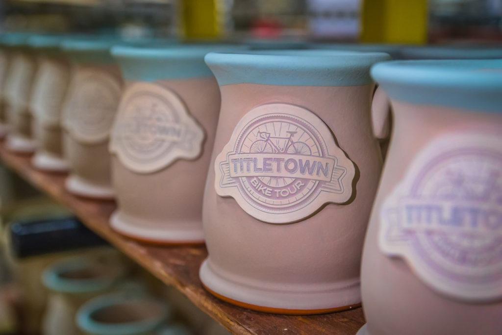 Glazed Wide Mouth Stoneware Mugs