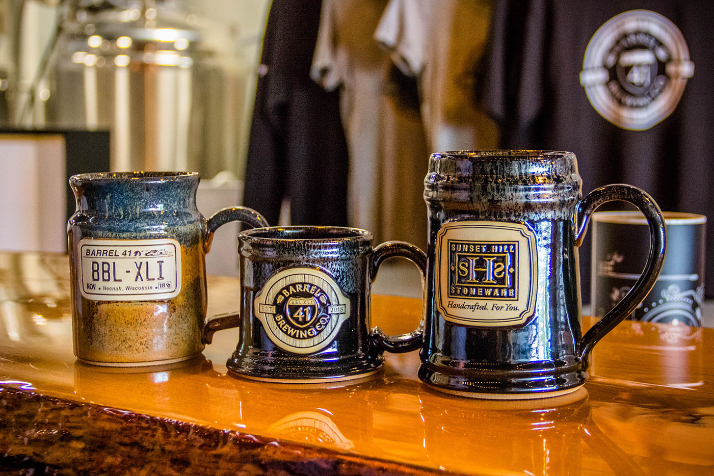 Stoneware Steins and Beer Mugs
