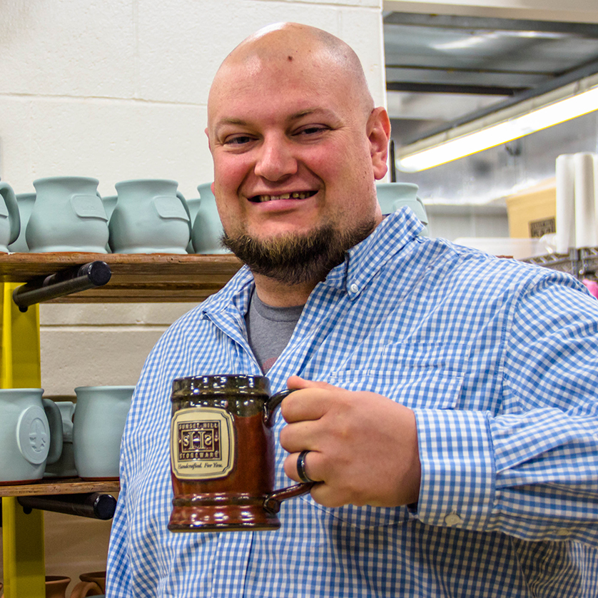 Tyler Olds, Sunset Hill Stoneware Director of Marketing