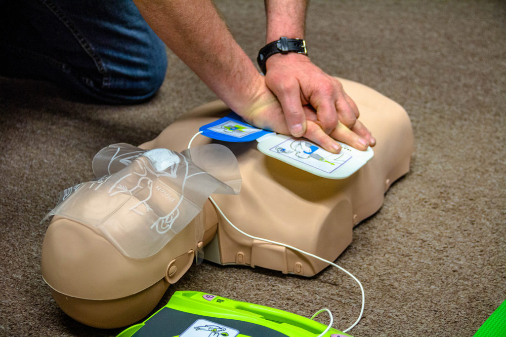 CPR classes as part of workplace safety