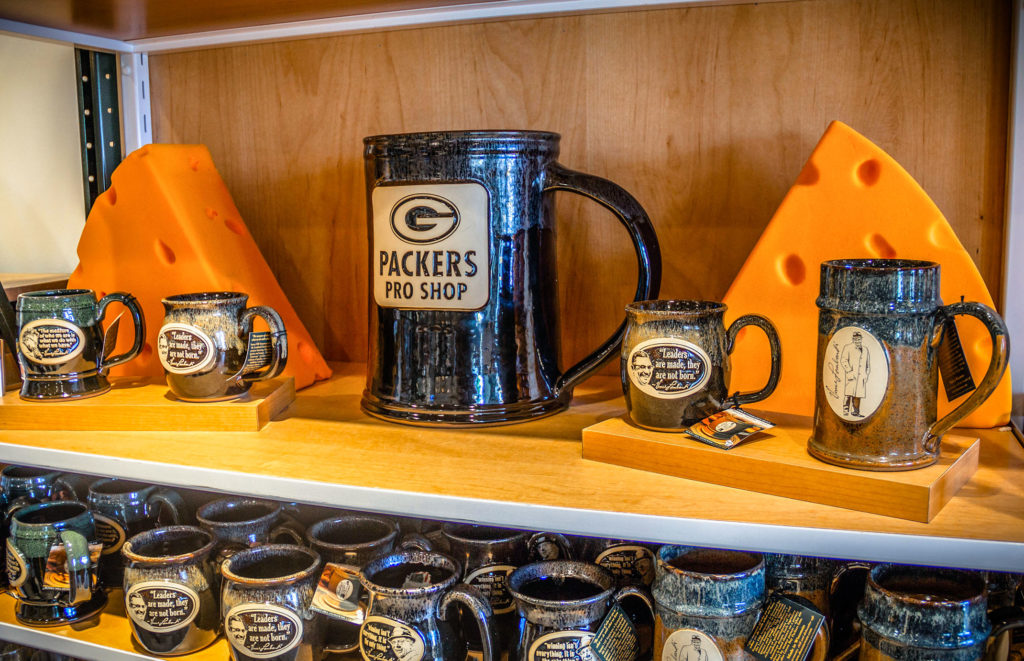 Packers Pro Shop stoneware