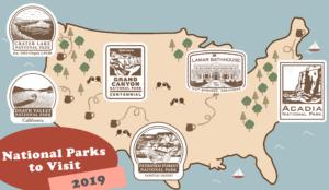 National Park Map