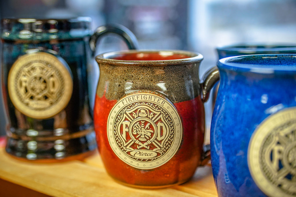 Pierce Manufacturing mugs