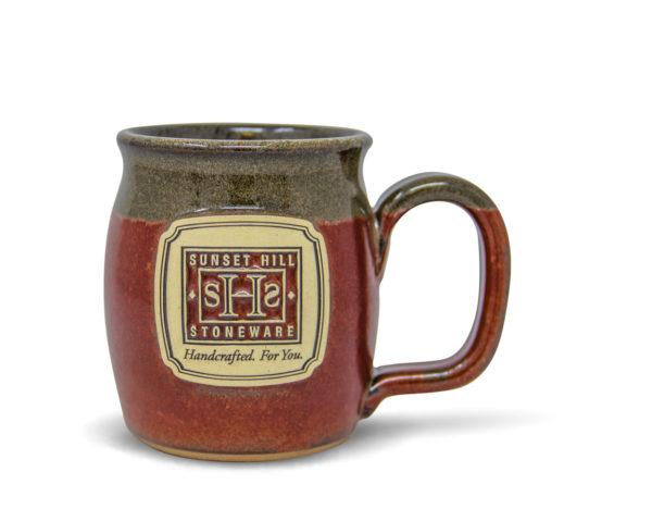 Brick Red Java Taster SHS logo