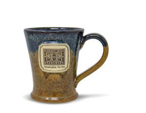 SHS Logo Copperhead Run Glaze Ren Voy Mug