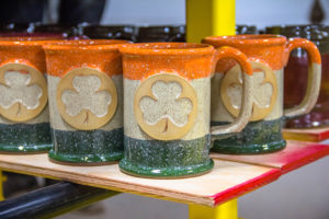 Straight Shot coffee mug in Blarney Stone glaze