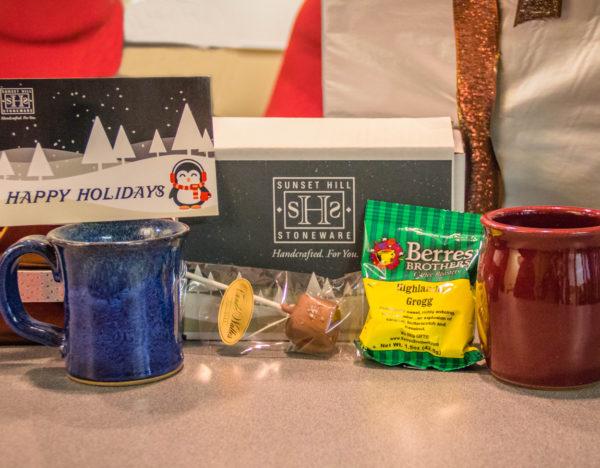 Sunset Hill Stoneware gift box set